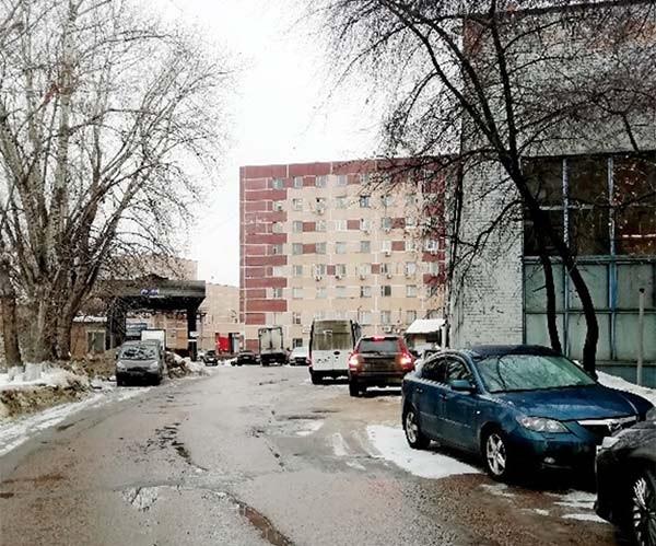 Проход по территории Кутузовский проспек к кадастровому инженеру